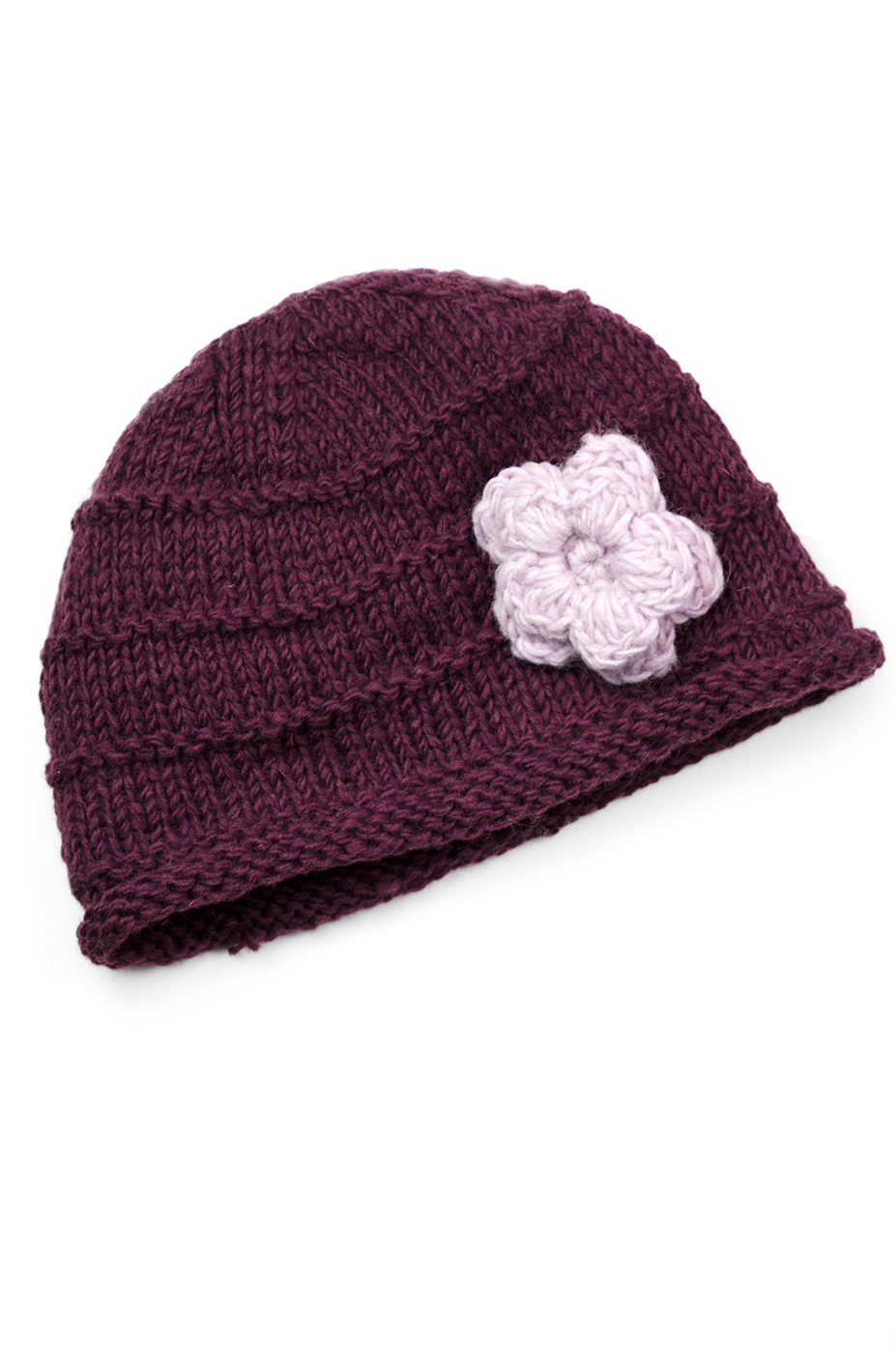 Plum & Pink Hat