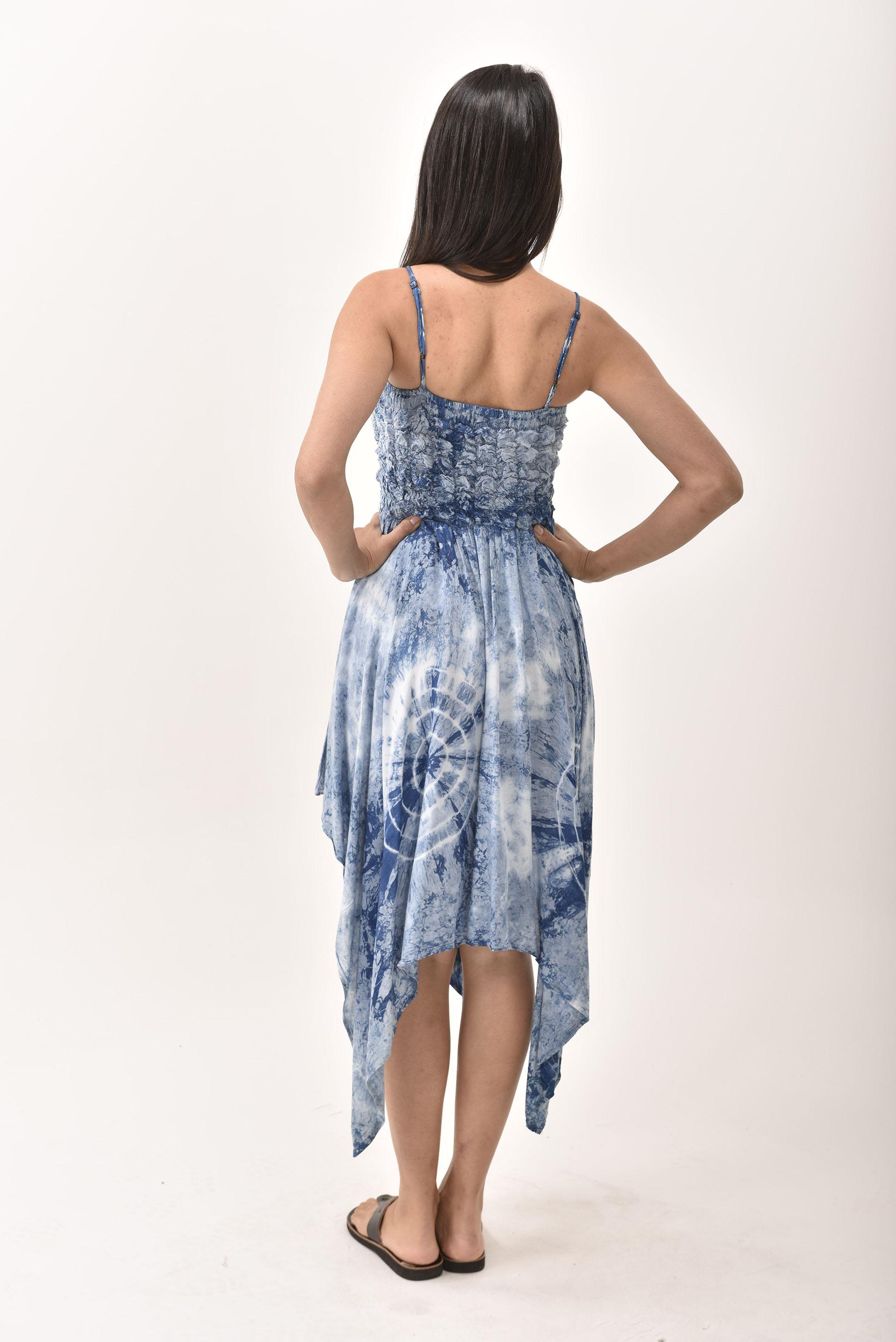 Fairy Dress, Indigo - 4567IH