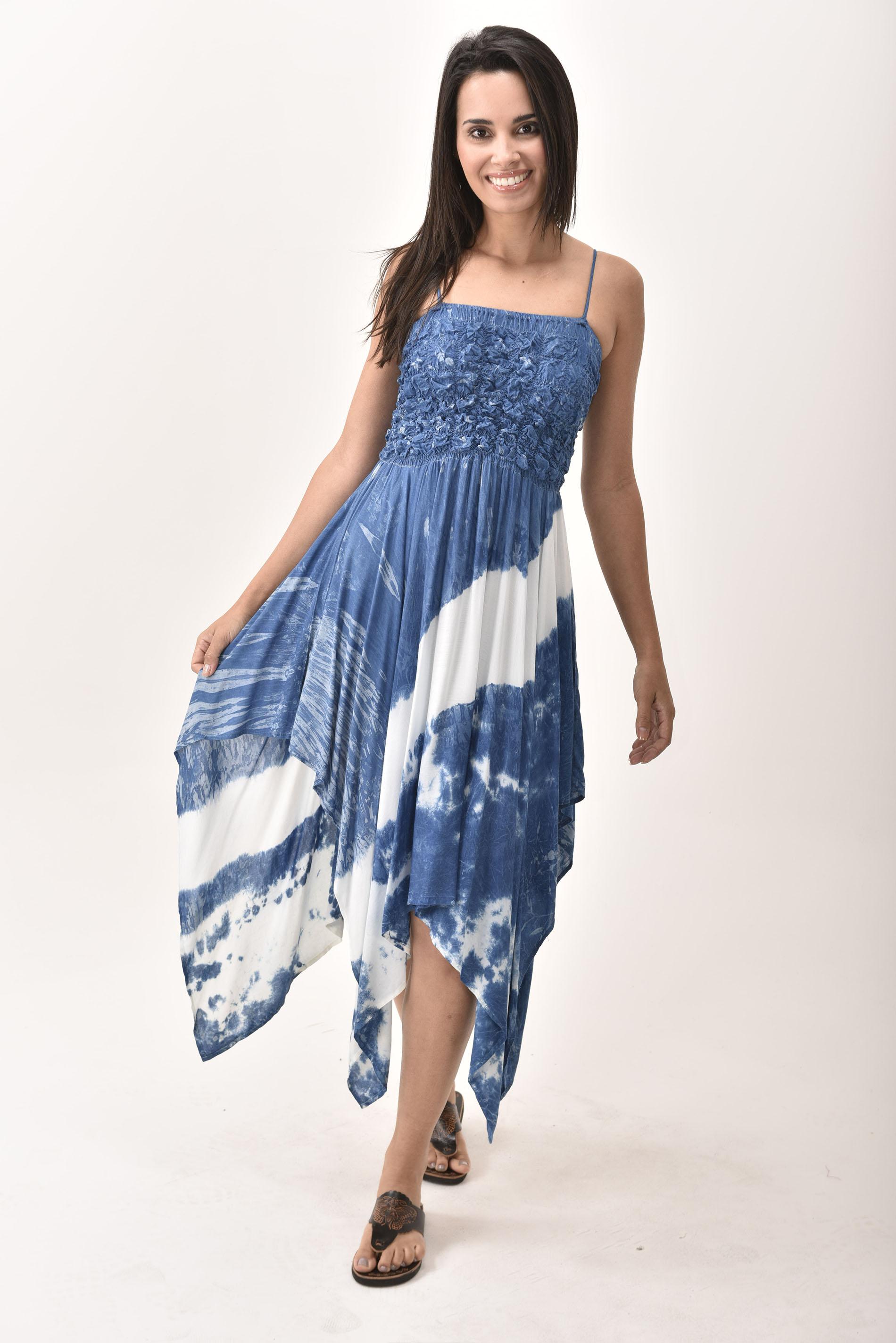 Fairy Dress, Indigo - 4567IW